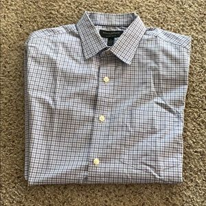 2 for $24! BANANA REPUBLIC long sleeve button up